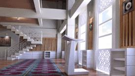 jasa desain interior masjid