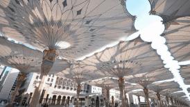 replika payung masjid nabawi